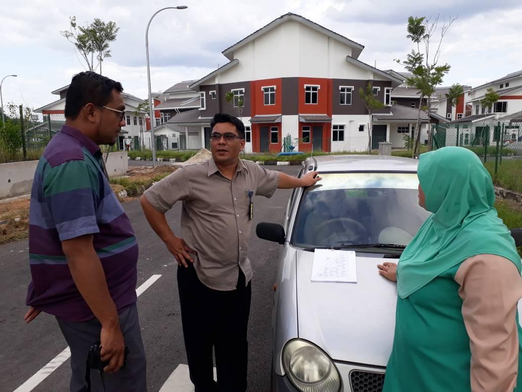 Lawatan Tapak Oleh PRN Kedah, Tarikh 13/02/2018
